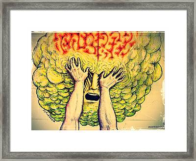Imposition Of Desires Framed Print