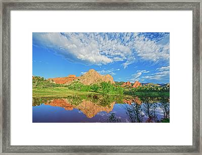 Impossible Not To Fall In Love With Colorado. Here's Why.  Framed Print