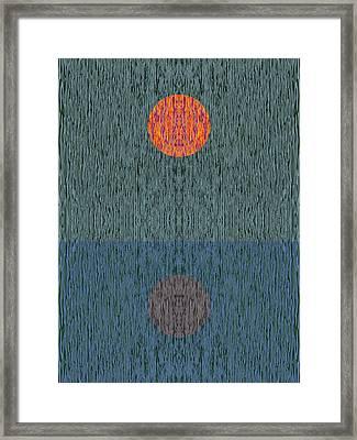 Impression 1 Framed Print