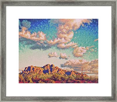 Impression Afternoon Framed Print