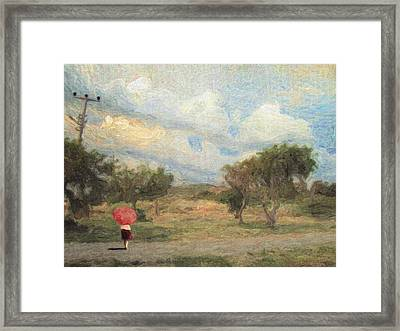Impressione Framed Print