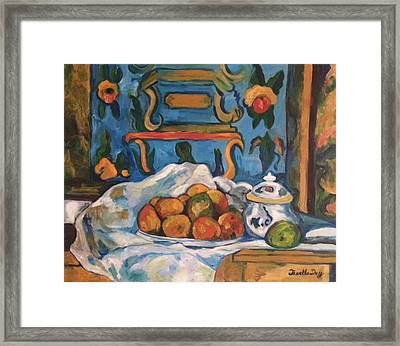 Framed Print featuring the painting Impressionism by Janelle Dey