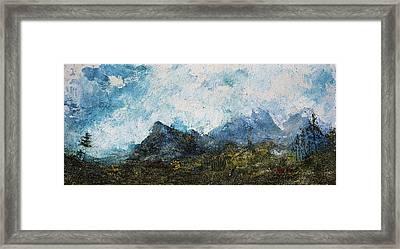 Impressionistic Landscape Framed Print