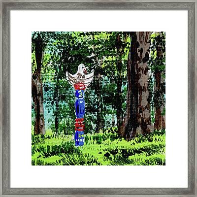 Impressionistic Landscape Viii Framed Print