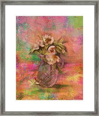 Impressionistic Still Life  Framed Print