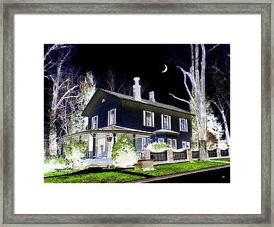 Impressions 5 Framed Print by Will Borden