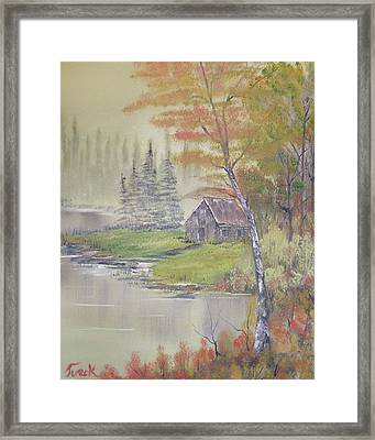 Impressions In Oil - 10 Framed Print by Bill Turck