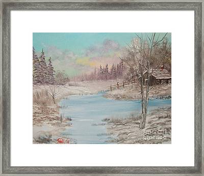 Impressions In Oil - 16 Framed Print by Bill Turck