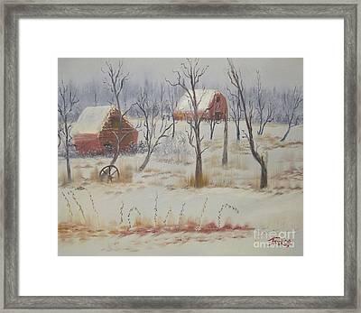 Impressions In Oil - 19 Framed Print by Bill Turck