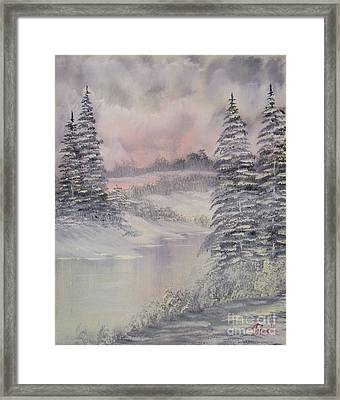 Impressions In Oil - 2 Framed Print by Bill Turck