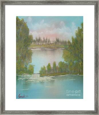 Impressions In Oil - 5 Framed Print by Bill Turck