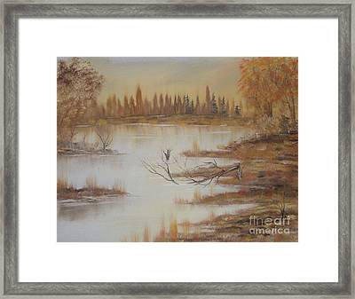 Impressions In Oil - 8 Framed Print by Bill Turck