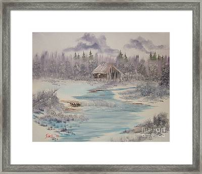 Impressions In Oil - 9 Framed Print by Bill Turck