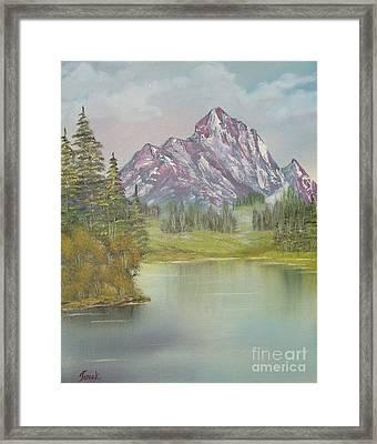 Impressions In Oil -13 Framed Print by Bill Turck