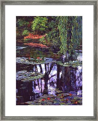 Impressions Of Giverny Framed Print