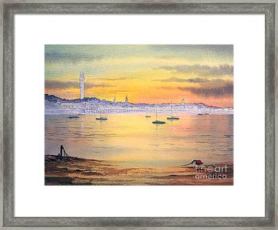 Impressions Of Provincetown Framed Print by Bill Holkham