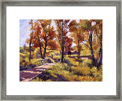 Impressions Of Southern France Framed Print by David Lloyd Glover