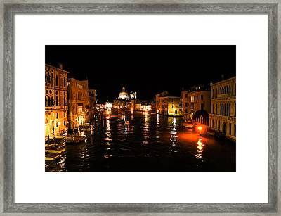 Impressions Of Venice - Grand Canal Gold Framed Print