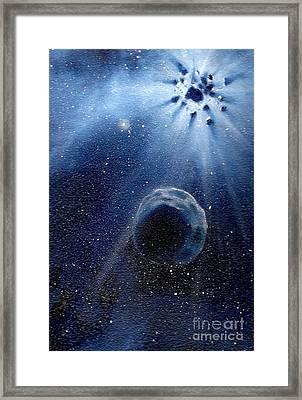 Impressive Impact Framed Print by Murphy Elliott