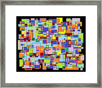 Improv 102 Framed Print by Cynthia Friedlob