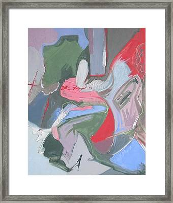 Visual Jazz #15 Framed Print by Philip Rader