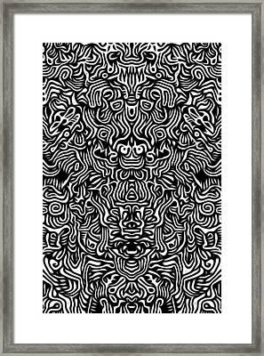 Improvisation I Framed Print by Gabriel Palacios