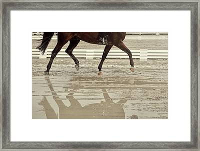 Impulsion Mirrored Framed Print by JAMART Photography