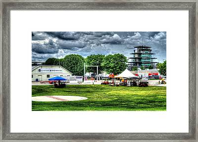 Ims Hospital  Framed Print