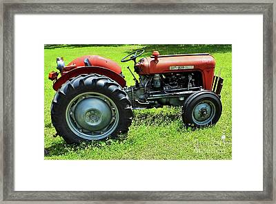 Imt 539 Tractor Framed Print