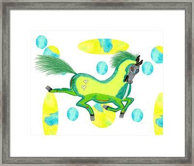 Imu  Framed Print by Tess M J Iroldi