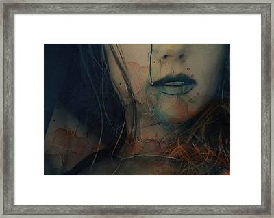Framed Print featuring the mixed media In A Broken Dream  by Paul Lovering