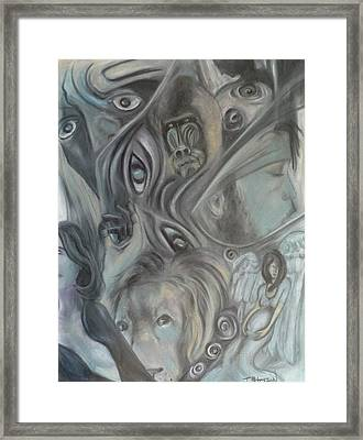 In A Broken Dream Framed Print by Todd  Peterson