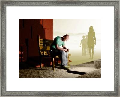In A Fog Of Isolation Framed Print