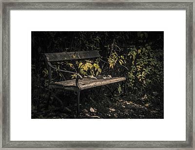 In A Forgotten Corner Framed Print by Odd Jeppesen