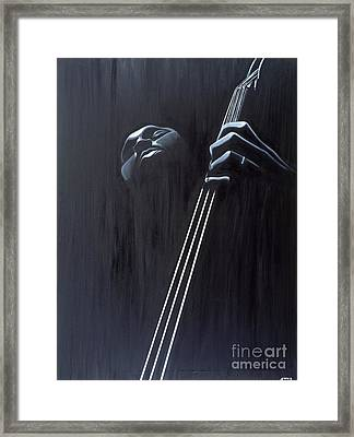 In A Groove Framed Print
