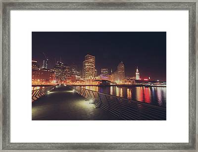 In A Heartbeat Framed Print