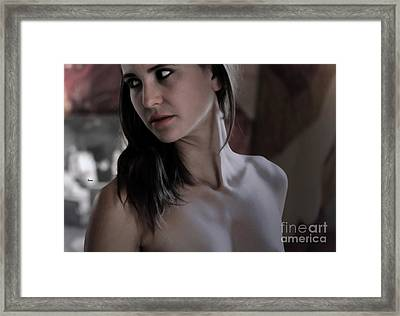 In A Moment Of Beauty Framed Print by Steven  Digman