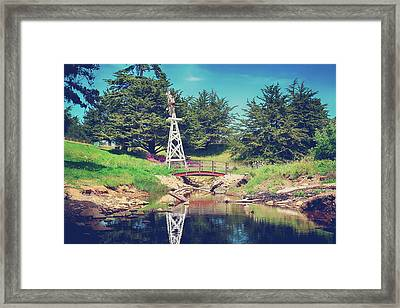 In A Perfect World Framed Print by Laurie Search