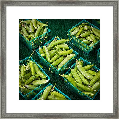 in a Pod Framed Print by Peter Tellone