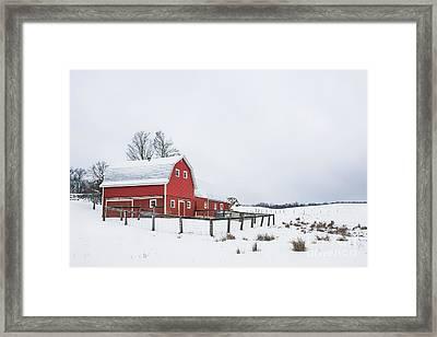 In A Rural Atmosphere Framed Print