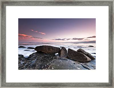 In A Silent Way Framed Print by Ryan Weddle