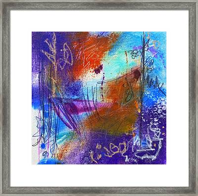 In A Summer Sky Framed Print