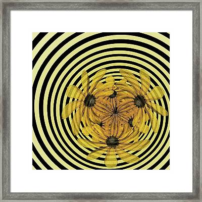 In A Whirl Framed Print by Nikolyn McDonald