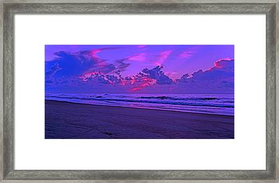 In All Its Brilliance Topsail Island Framed Print