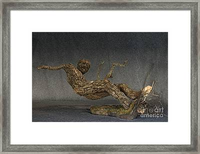 In An Instant A Sculpture By Adam Long Framed Print by Adam Long
