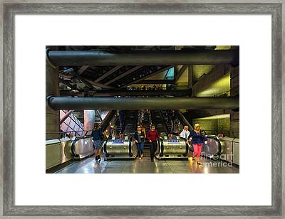 In And Out Framed Print by Svetlana Sewell