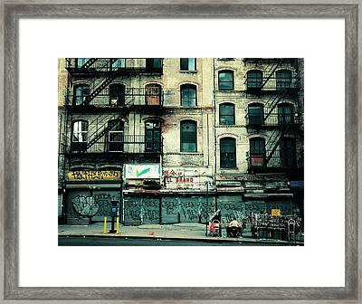 In Another Time And Place Framed Print by Vivienne Gucwa