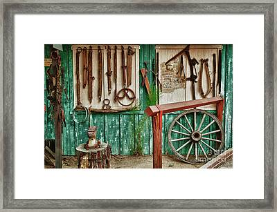 In Another Time Framed Print