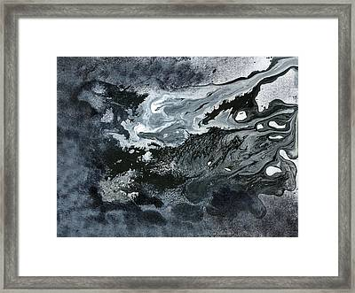 In Ashes Framed Print