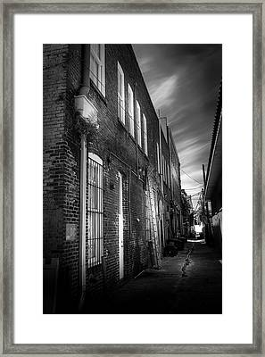 In Back Framed Print by Marvin Spates